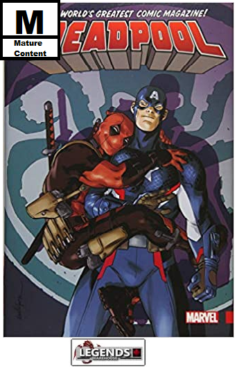 GRAPHIC NOVELS - MARVEL - Deadpool: World's Greatest Vol. 4 HC