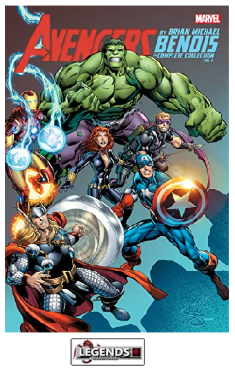 GRAPHIC NOVELS - MARVEL - Avengers by Brian Bendis Complete collection Vol. 3 PB