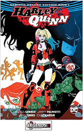 GRAPHIC NOVELS - D.C. -  Harley Quinn: The Rebirth Deluxe Edition Book 1 HC
