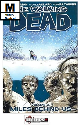 GRAPHIC NOVELS - IMAGE - The Walking Dead Vol 2: Miles Behind Us PB