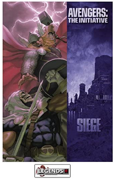 GRAPHIC NOVELS - MARVEL - Siege: Avengers - the Initiative HC