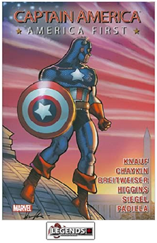 GRAPHIC NOVELS - MARVEL - Captain America: America First PB