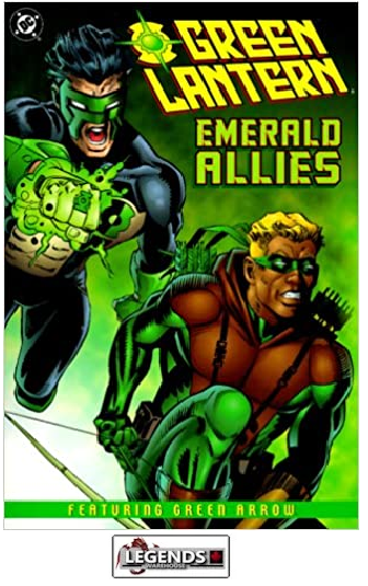 GRAPHIC NOVELS - D.C. - Green Lantern: Emerald Allies PB