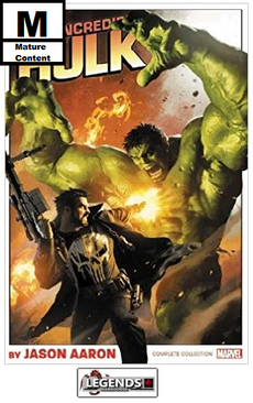 GRAPHIC NOVELS - D.C. -  Incredible Hulk by Jason Aaron: The Complete Collection PB