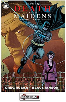 GRAPHIC NOVELS - D.C. - Batman Death and the Maidens the Deluxe Edition HC