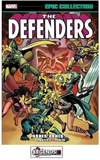 GRAPHIC NOVELS - MARVEL - The Defenders Epic Collection PB
