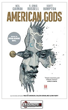 GRAPHIC NOVELS - DARK HORSE - American Gods HC