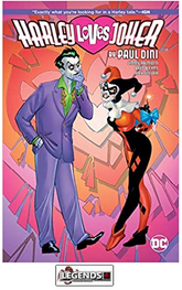 GRAPHIC NOVELS - D.C. -  Harley Loves Joker HC