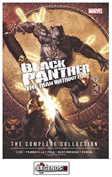 GRAPHIC NOVELS - MARVEL - Black Panther: The Man Without Fear - The Complete Collection PB