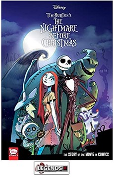 GRAPHIC NOVELS - DARK HORSE - Disney The Nightmare Before Christmas: The Story of the Movie in Comics HC