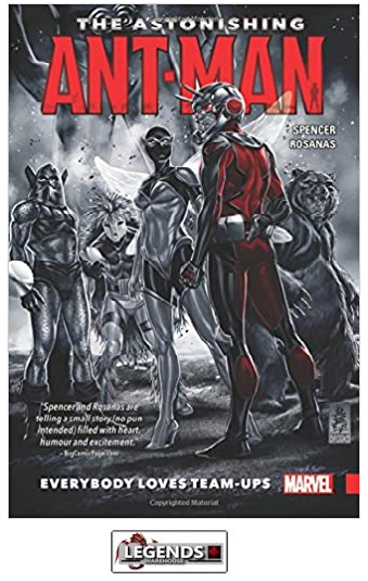GRAPHIC NOVELS - MARVEL - The Astonishing Ant-Man Vol. 1: Everybody Loves Team-Ups PB