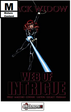 GRAPHIC NOVELS - MARVEL - Black Widow: Web of Intrigue HC