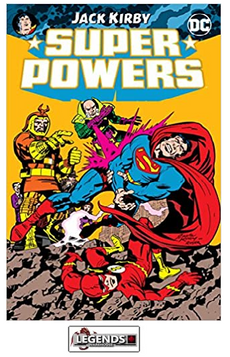 GRAPHIC NOVELS - D.C. - Super Powers by Jack Kirby PB