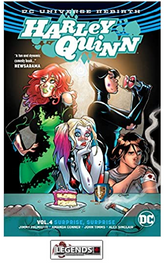 GRAPHIC NOVELS - D.C. -  Harley Quinn Vol. 4: Surprise, Surprise PB