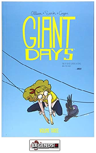 GRAPHIC NOVELS - INDEPENDENTS - Boom Box! - Giant Days Vol 3 PB