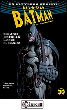 GRAPHIC NOVELS - D.C. - All-Star Batman Vol. 1: My Own Worst Enemy (Rebirth) HC