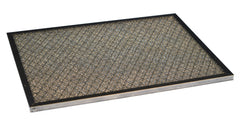 "10"" x 20"" Durable Aluminum Framed Air Filter with Washable, Durable rugged metal mesh media media built to achieve a wide variance of industrial / air handler applications."