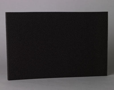 "16"" x 25"" x .25"" Uni-Foam Air Filter Pad (25 ppi)"