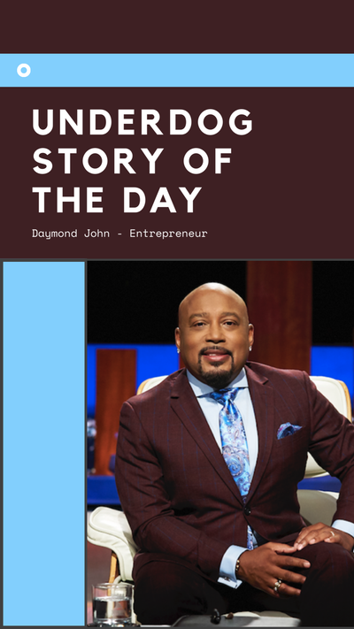 Underdog Story of the Day - Daymond John