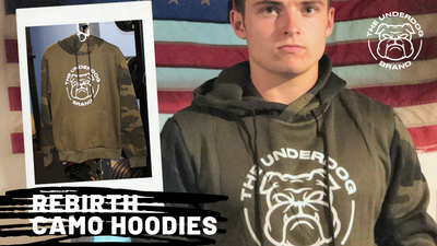 Rebirth Camo Hoodie - Military Green