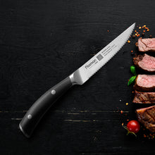 "Load image into Gallery viewer, Steak knife 4.5"" KOYOSHI (X50CrMoV15 steel)"