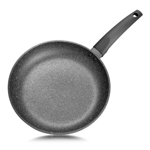 "Frying Pan ""GREY STONE""  20cm ,  PLATINUM 4-layer heavy-duty non-stick coating"