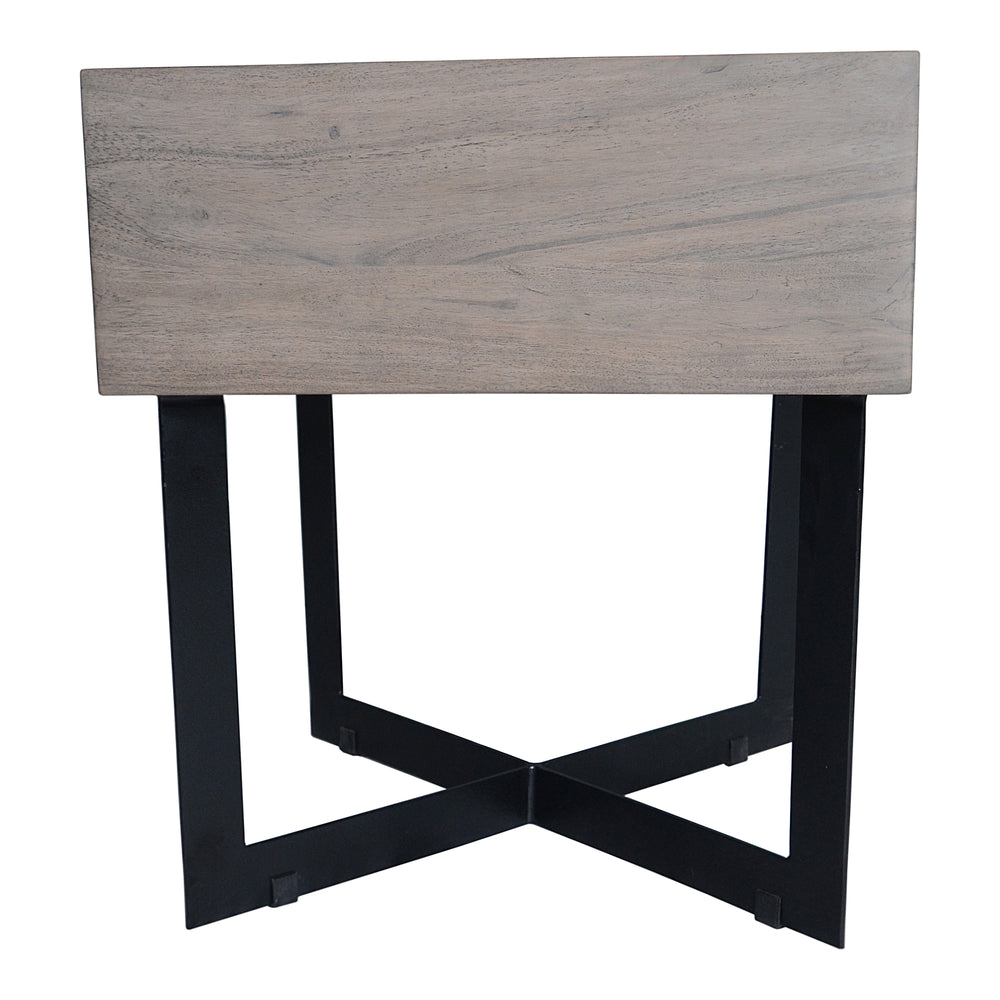 Tiburon Side Table Grey Grey Side Table Moe's Four Hands, Mid Century Modern Furniture, Old Bones Furniture Company, https://www.oldbonesco.com/