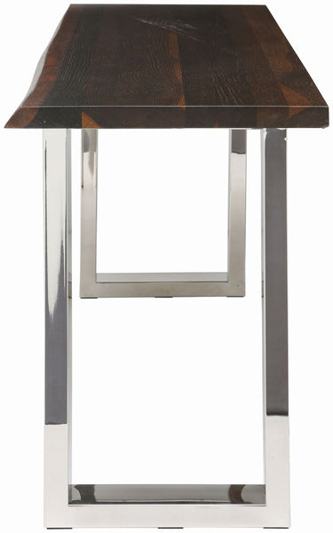 Lyon Seared Wood Console Table