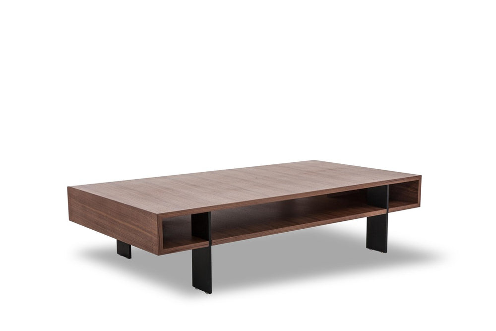 Stilt Walnut Coffee Table