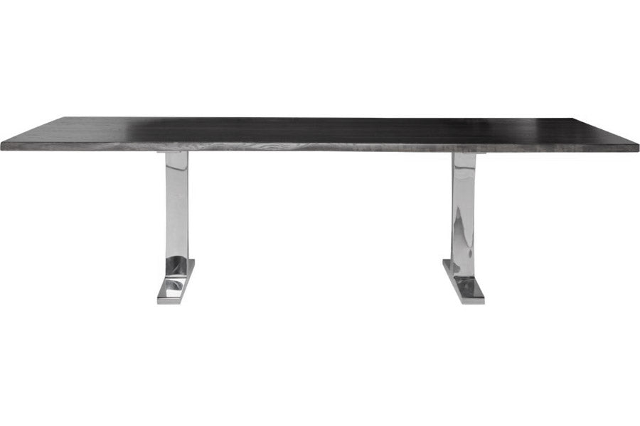Toulouse Oxidized Grey Wood Dining Table