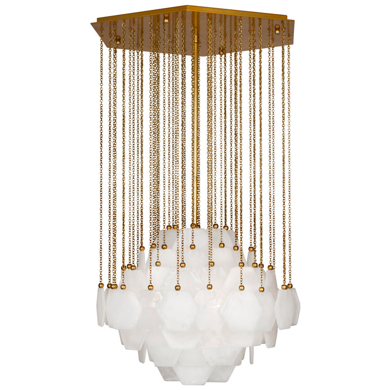 Vienna Large Chandelier – Brass