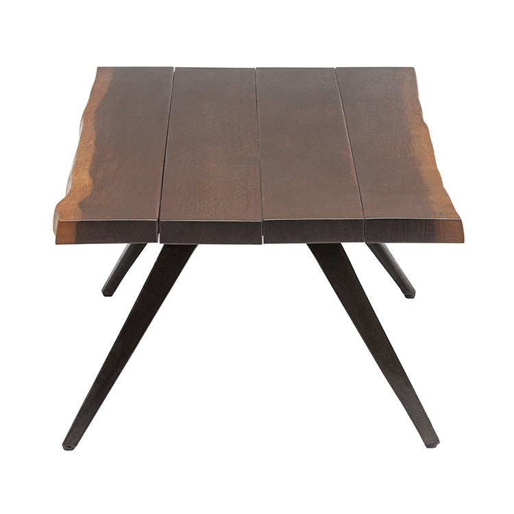 Vega Seared Wood Coffee Table