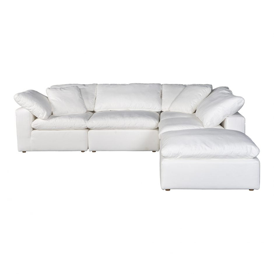 Terra Condo Dream Modular Sectional Livesmart Fabric Cream