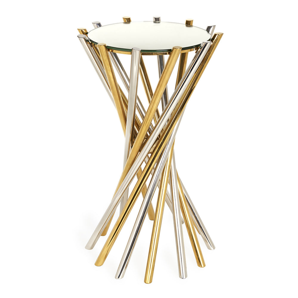 Electrum Accent Table   Side Table Jonathan Adler Old Bones Furniture Company https://www.oldbonesco.com/