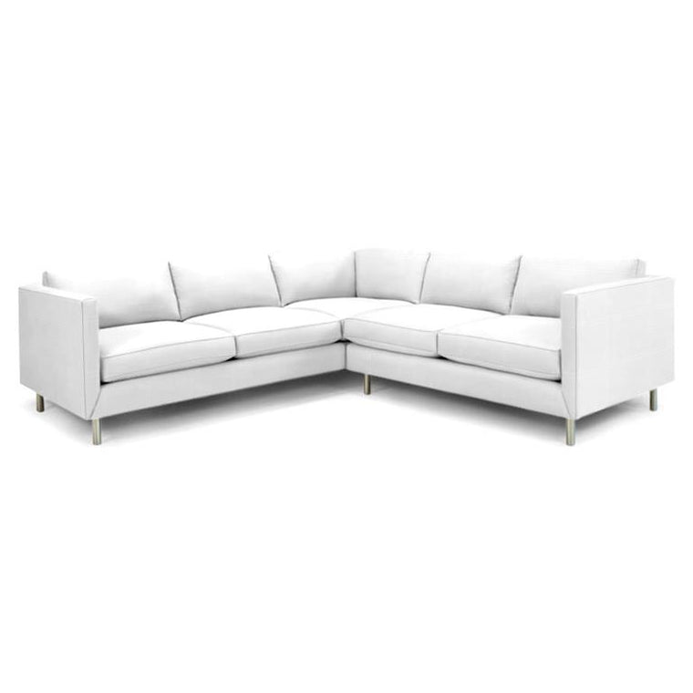 Topanga Sectional Right Arm Facing Cotton Twill