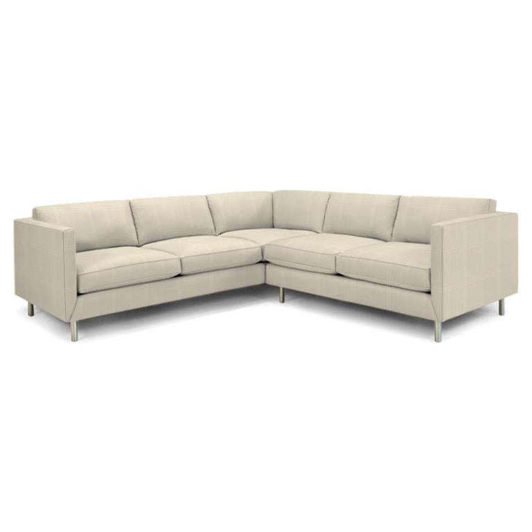 Topanga Sectional Right Arm Facing Sunbrella Sailcloth Oat Sailcloth Oat Sectionals Jonathan Adler Four Hands, Mid Century Modern Furniture, Old Bones Furniture Company, https://www.oldbonesco.com/