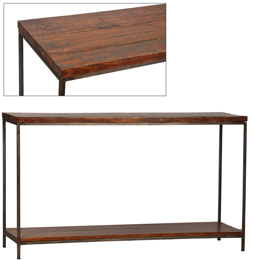 Delvin Console Table   Console Table Dovetail Four Hands, Mid Century Modern Furniture, Old Bones Furniture Company, https://www.oldbonesco.com/