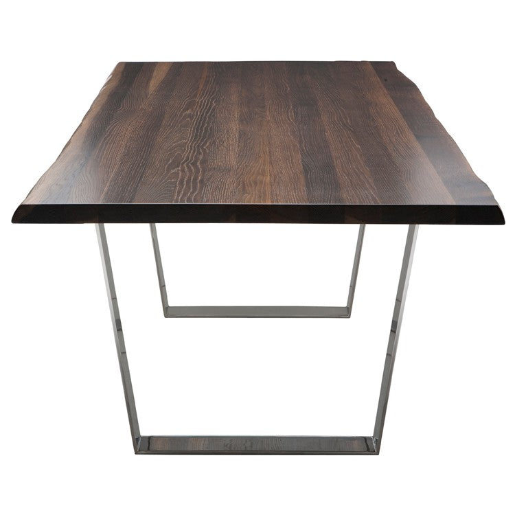 Versailles Seared Wood Dining Table   TABLE Nuevo Four Hands, Mid Century Modern Furniture, Old Bones Furniture Company, https://www.oldbonesco.com/