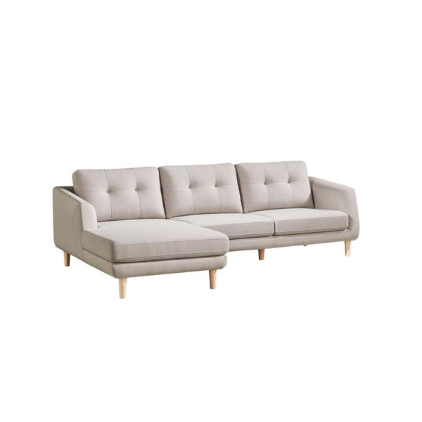 Corey Sectional Light Grey - Old Bones Furniture Company