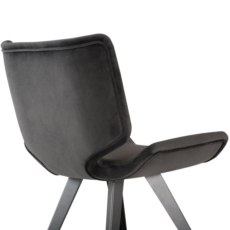 Astra Dining Chair - Shadow Grey   Dining Chair Nuevo Old Bones Furniture Company https://www.oldbonesco.com/
