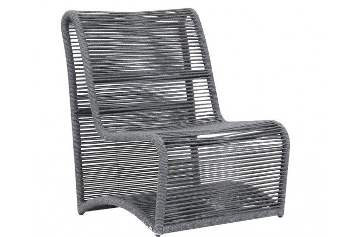 Milano Armless Club Chair   Outdoor Sunset West, Old Bones Co  https://www.oldbonesco.com/