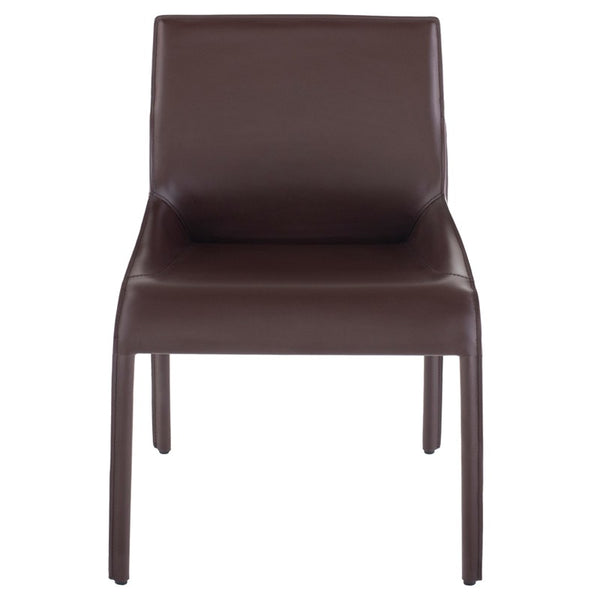 Admirable Delphine Dining Chair Brown Creativecarmelina Interior Chair Design Creativecarmelinacom