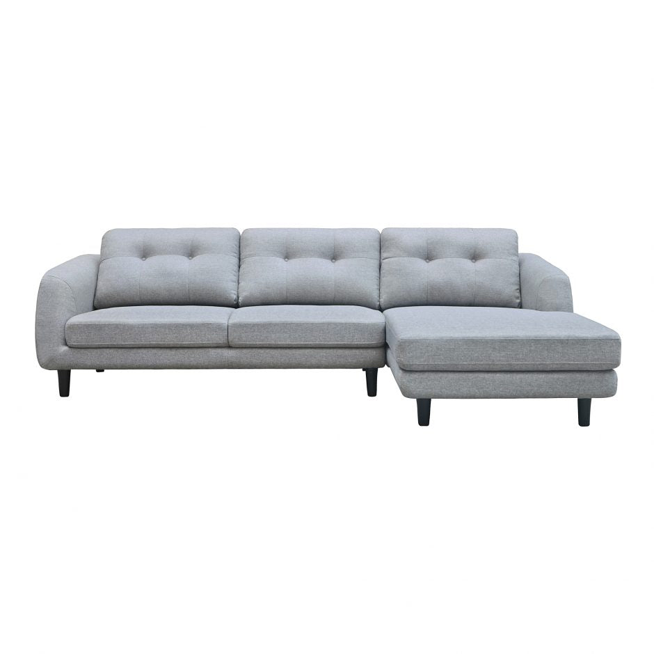 Corey Sectional Dark Grey Right Dark Grey - Right Dark Grey - Right Sectional Sofa Moe's Four Hands, Mid Century Modern Furniture, Old Bones Furniture Company, https://www.oldbonesco.com/