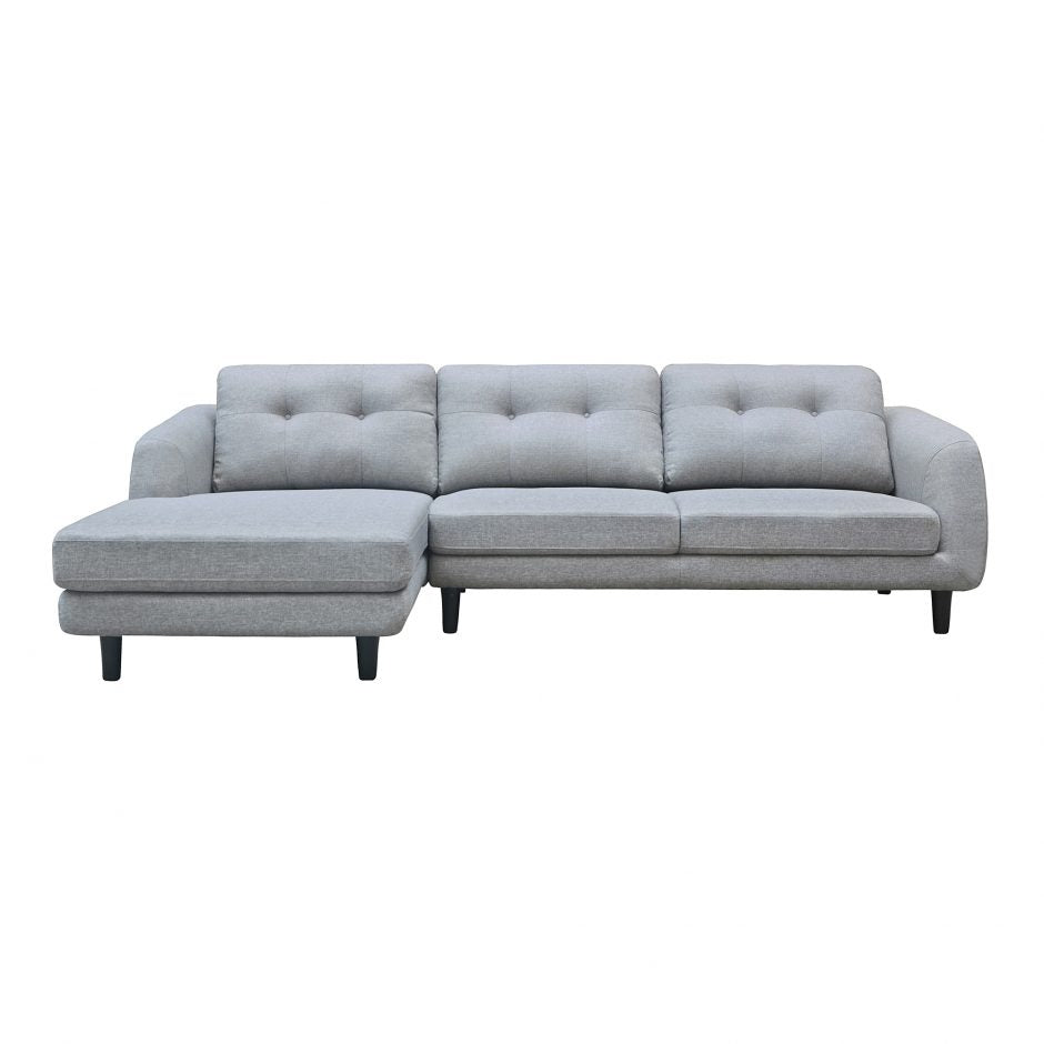 Corey Sectional Dark Grey Right   Sectional Sofa Moe's Four Hands, Mid Century Modern Furniture, Old Bones Furniture Company, https://www.oldbonesco.com/