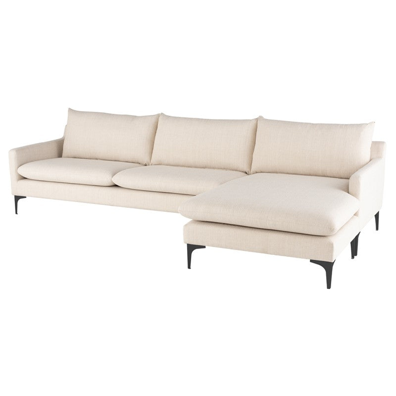 Anders Sectional   Sectionals Nuevo Four Hands, Mid Century Modern Furniture, Old Bones Furniture Company, https://www.oldbonesco.com/