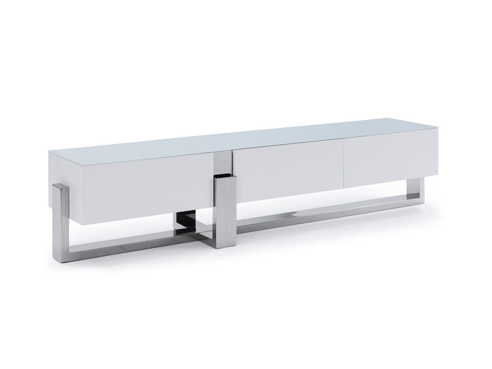 Blake TV Unit   TV Stand Whiteline, Old Bones Co, Modern Furniture, https://www.oldbonesco.com/