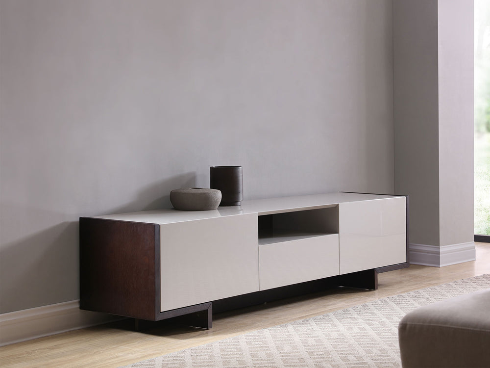 Noah TV Unit   TV Stand Whiteline Four Hands, Mid Century Modern Furniture, Old Bones Furniture Company, https://www.oldbonesco.com/
