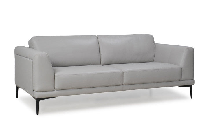 Kerman Leather Loveseat