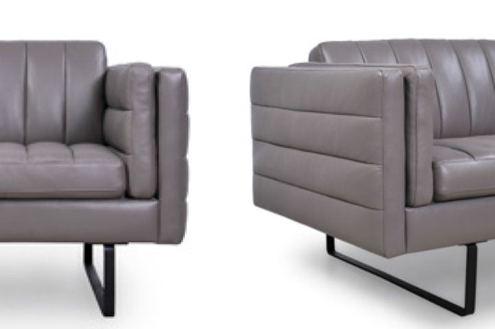 Orson Leather Lounge Chair