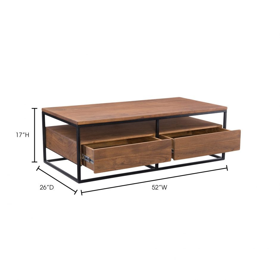 Vancouver Coffee Table   Coffee Table Moe's Four Hands, Mid Century Modern Furniture, Old Bones Furniture Company, https://www.oldbonesco.com/